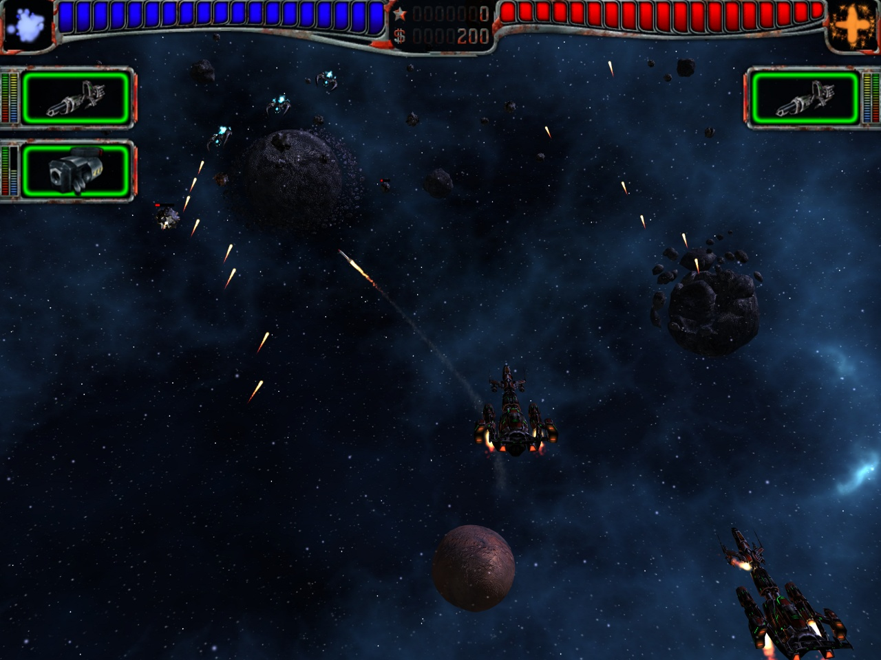 Screenshot of AstroMenace